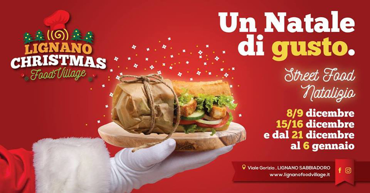 LIGNANO CHRISTMAS FOOD VILLAGE